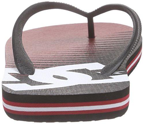 de Graffik Dedo Xrrk DC Sandalias Rot Spray M Shoes Hombre SNDL Rojo wBxnYSHF