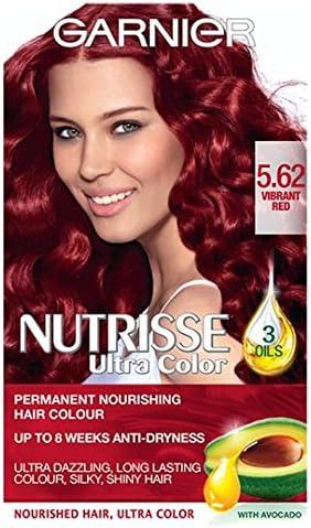 Garnier Nutrisse Ultra color 5,62 Vibrant rojo: Amazon.es ...