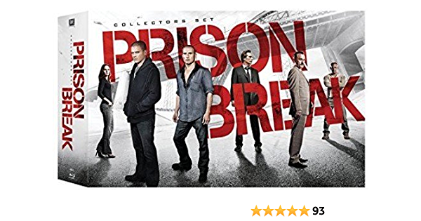 Amazon Com Prison Break Event Series Seasons 1 4 Complete Collection Blu Ray Wentworth Miller Dominic Purcell Movies Tv