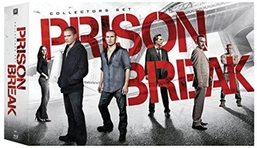 Blu-ray : Prison Break: Collector\'s Set (Oversize Item Split, Collector\'s Edition, Boxed Set, Digital Theater System, )