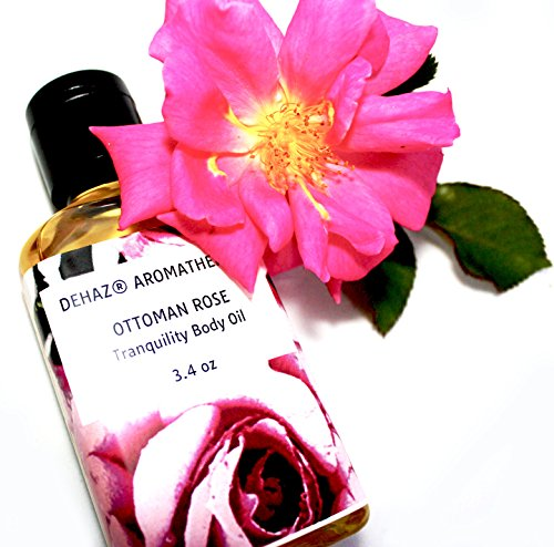 OTTOMAN ROSE BODY OIL – DEHAZ Skincare 100% Pure Natural Vegan Botanical Aromatherapy