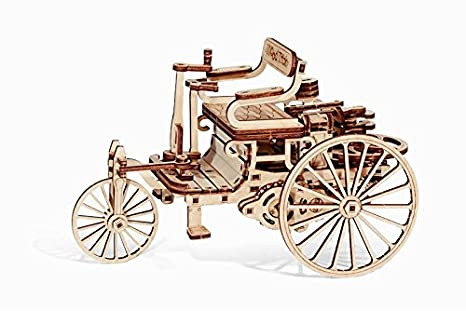 Amazon com: Wood Trick First Car 3D / WOODEN PUZZLES / MECHANICAL