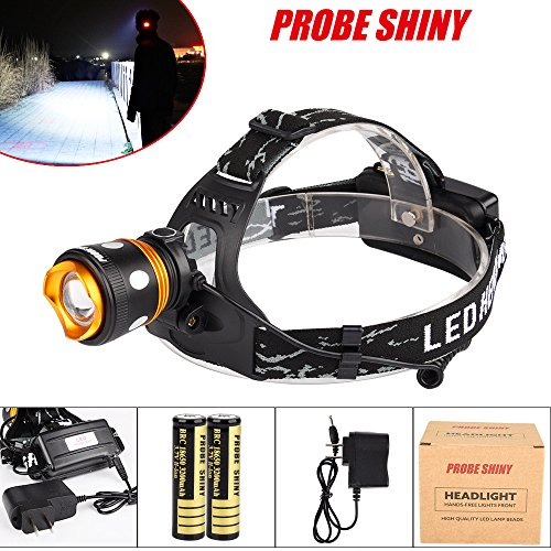 XM-L T6 LED Rechargeable Headlamp Headlight 1000LM Zoomable - 1