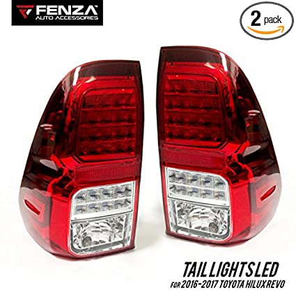 amazon led tail lights set for 2016 2019 toyota hilux revo tail Jayco LED Tail Lights led tail lights set for 2016 2019 toyota hilux revo tail l pair led lights