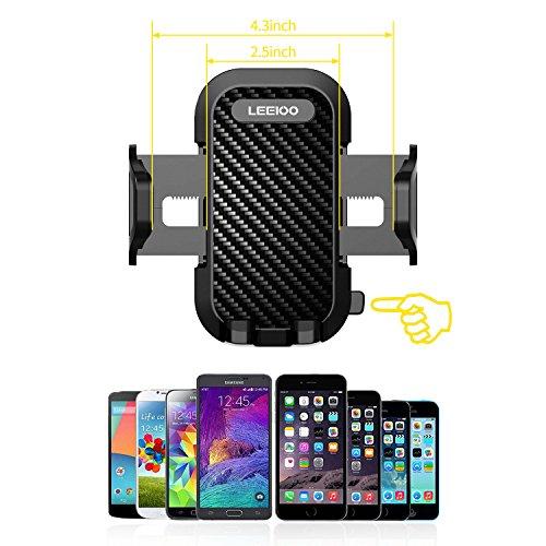 LEEIOO Car Car Phone Car Cradle iPhone 7 6s Galaxy S8 Plus Edge S7 S6 Note 8