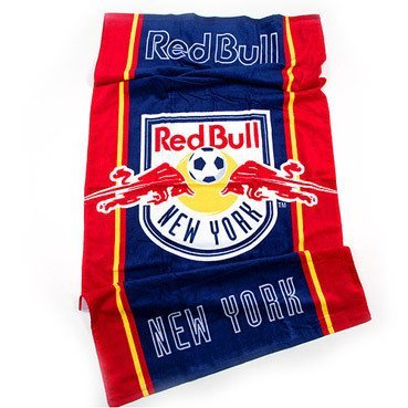 MLS New York Red Bull Beach Towel 30X60