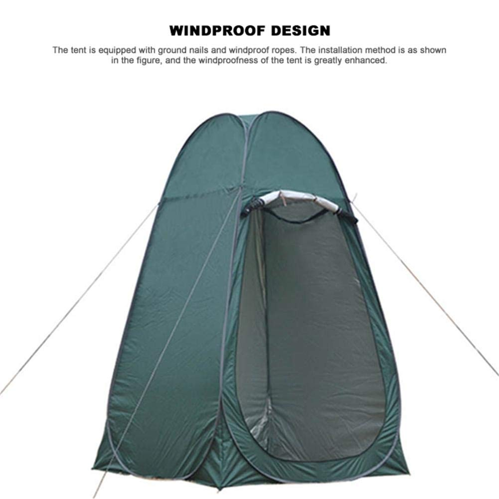 Leader Accessories Pop Up Shower Tent Dressing Tent Pod Toilet Tent Changing by Oshide (Image #6)