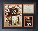 "Legends Never Die ""Jim Brown Running Framed Photo Collage, 11 x 14-Inch"