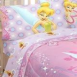 Disney Fairies Tinkerbell Whimsy Tink Full Sheet Set