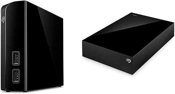 Seagate Backup Plus Hub 8TB External USB 3.0 Desktop Hard Drive Black