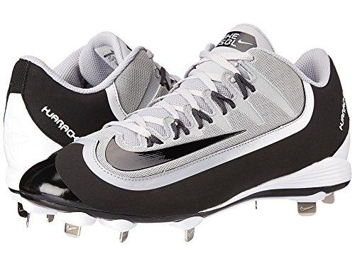 brand new 87b9a 6c5f2 messieurs et mesdames nike huarache huarache huarache 2kfilth loup gris  blanc pro - bas noirs chaussures