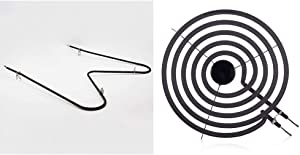 Frigidaire 316075103 Oven Bake Element & 316442301 Element, 8 Inch, black
