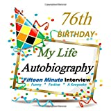 76th Birthday Decorations in All Departments: Autobiography, Fifteen Minute, 76th Birthday in All Departments, 76th Birthday gifts for men, 76th Birthday Gifts for Women