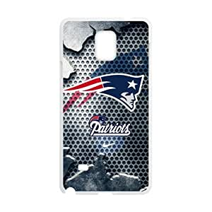Hoomin Cool New England Patriots Samsung Galaxy Note4 Cell Phone Cases Cover Popular Gifts(Laster Technology)