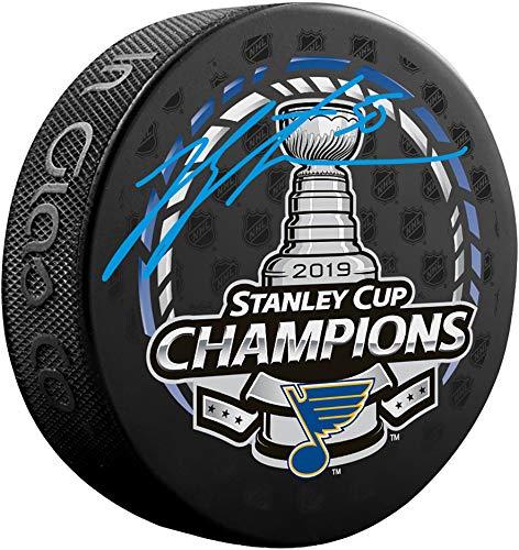 Jordan Binnington St. Louis Blues 2019 Stanley Cup Champions Autographed Stanley Cup Champions Logo Hockey Puck - Fanatics Authentic Certified (Autographed Stanley Cup Hockey Puck)