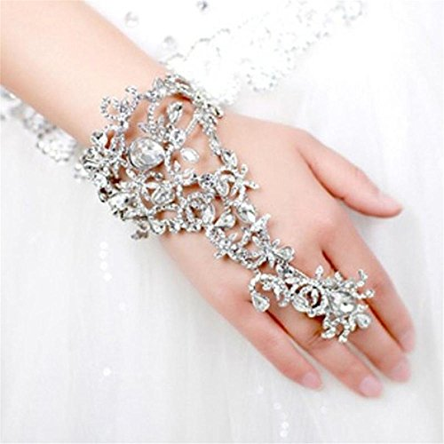 armyshop-bling-bridal-slave-chain-link-ring-bracelet-crystal-rhinestone-wristband-bangle