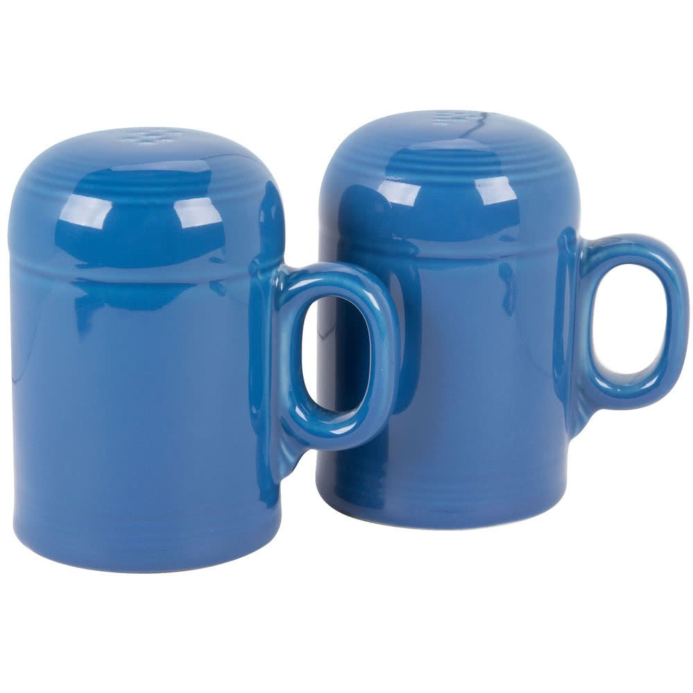 756337 Fiesta Lapis Rangetop Salt and Pepper Shaker Set - 4/Case By TableTop King by TableTop King