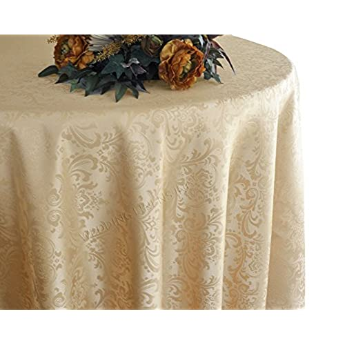 Gold Dining Table Cloth