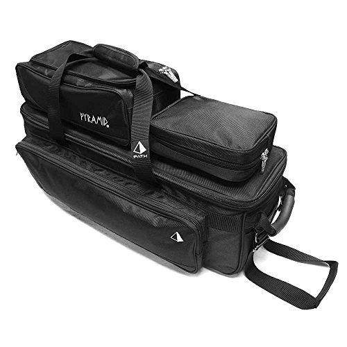 Pyramid Path Triple Tote Roller Plus Black