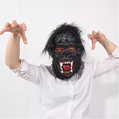 [JIEPING Big Ears Terrorist Party Dress Up Fancy Dress Costume Accessory Halloween Cosplay] (Terrorist Costumes)