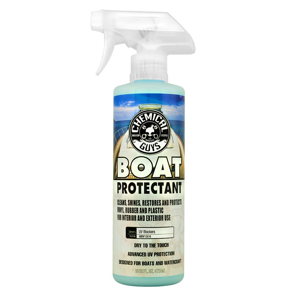 Chemical Guys MBW10516 Marine and Boat Vinyl & Rubber Protectant (16 oz)