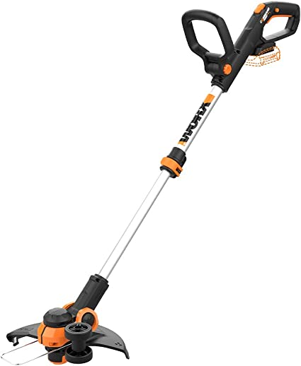 Worx Wg163 9 20v Cordless Grass Trimmer Edger With Command Feed 12 Tool Only Amazon Co Uk Garden Outdoors