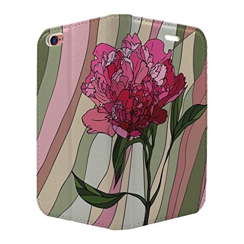 gebeizt Glas Muster Voll Flip Case Cover Für Apple iPhone 6–6S–s3518