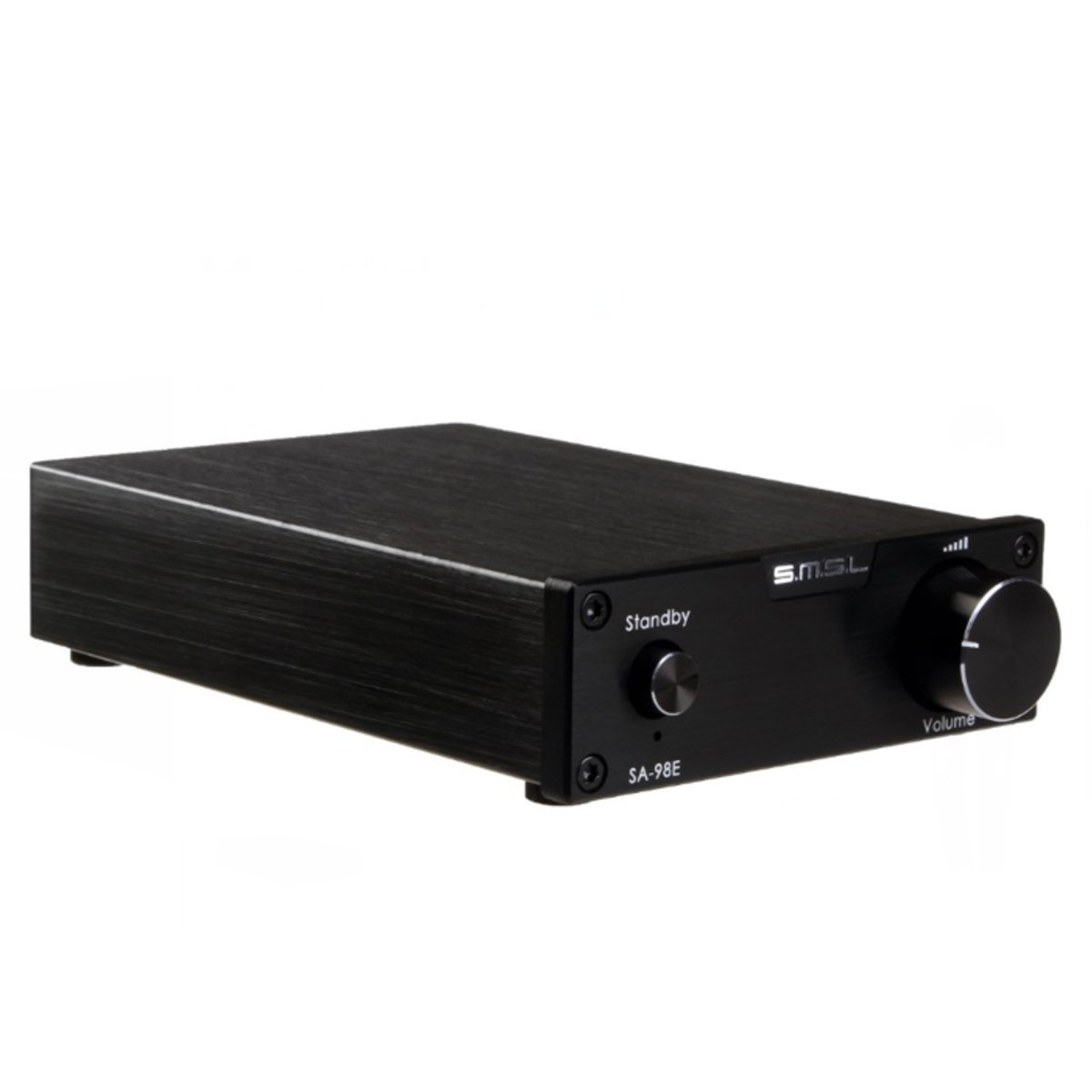 SMSL SA-98E 2 160W TDA7498E amplifier stereo digital amplifier + power adapter,TOP HIFI (black) by SMSL