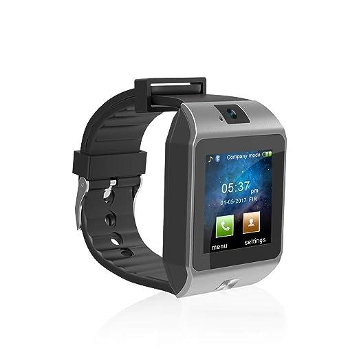 Podómetro Relojes Inteligentes para Hombres Mujeres Bluetooth Smart Wristband para Android iOS iPhone Cámara Remota Fitness