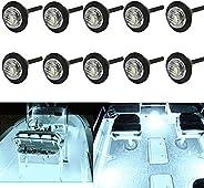 WIMACT Marine Boat Lights,12V Waterproof Led Interior Navigation Light Deck Courtesy Transom Step Cockpit Ligh