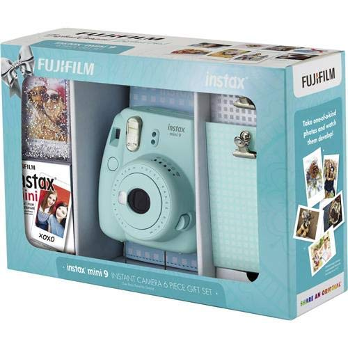 Fujifilm Instax Mini 9 Set, Ice Blue by Fujifilm