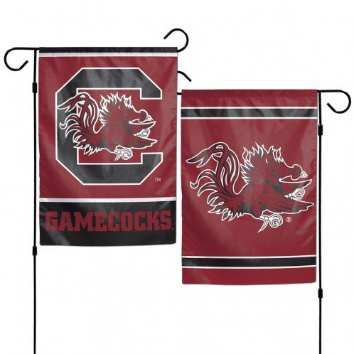 WinCraft NCAA University of South Carolina 12x18 Inch 2-Sided Outdoor Garden Flag Banner (Flag Gamecocks South Carolina)