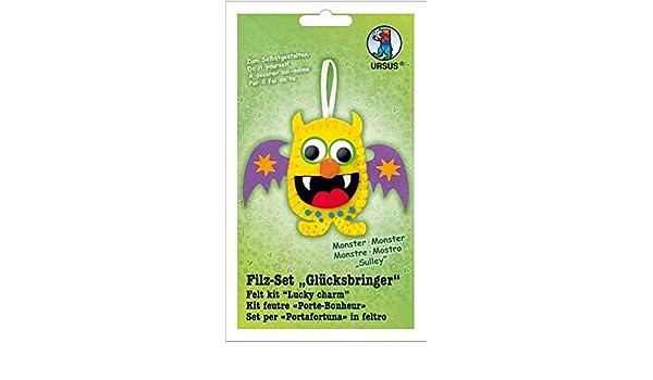 Ursus 39550013 Fieltro Juego Suerte, Monster Sulley: Amazon.es ...