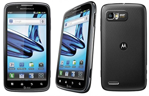 Motorola Atrix 2 4G MB865 - Unlocked GSM Quad Band - Android Gingerbread 2.3.5 - 8MP - 3D HD