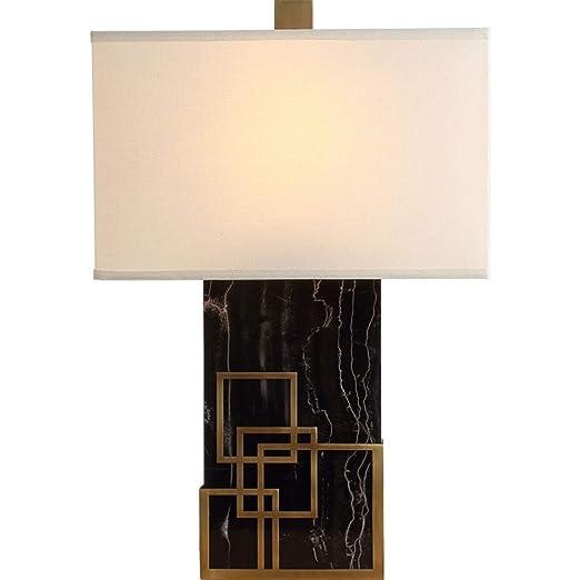 TJZY Lámpara de Mesa Moderna Simple de Mármol de Lujo Creativo ...