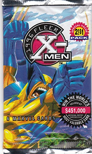 1996 Fleer X-Men Trading Cards Pack for sale  Delivered anywhere in USA