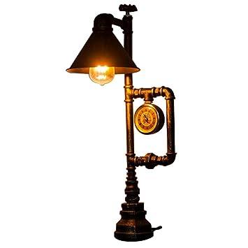 Lámparas de Mesa Estilo Retro Unico E27 Luces Estilo ...