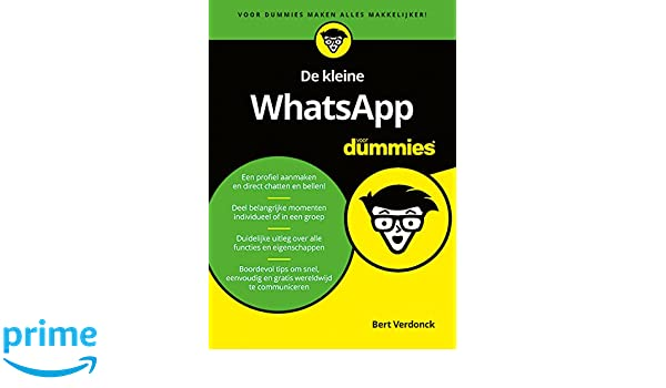 De kleine WhatsApp voor dummies: Amazon.es: Bert Verdonck: Libros en idiomas extranjeros