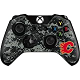 NHL Calgary Flames Xbox One Controller Skin - Calgary Flames Camo Vinyl Decal Skin For Your Xbox One Controller
