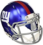 OFFICIAL NFL NEW YORK GIANTS MINI SPEED AMERICAN FOOTBALL HELMET BY RIDDELL