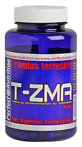 Perfect Nutrition T-ZMA Tribulus, Suplementos para Deportistas - 90 Cápsulas