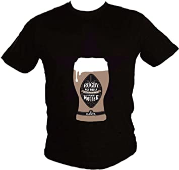 189d3690cfecc Hasta le Rugby by Serge Simon -T-shirt Rugby qui roule n amasse pas ...