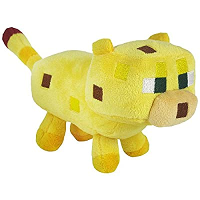 Minecraft Yellow Ocelot Soft Plush from Jazwares Domestic