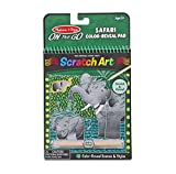 Melissa & Doug Safari Color-Reveal Scratch Art Activity Pad