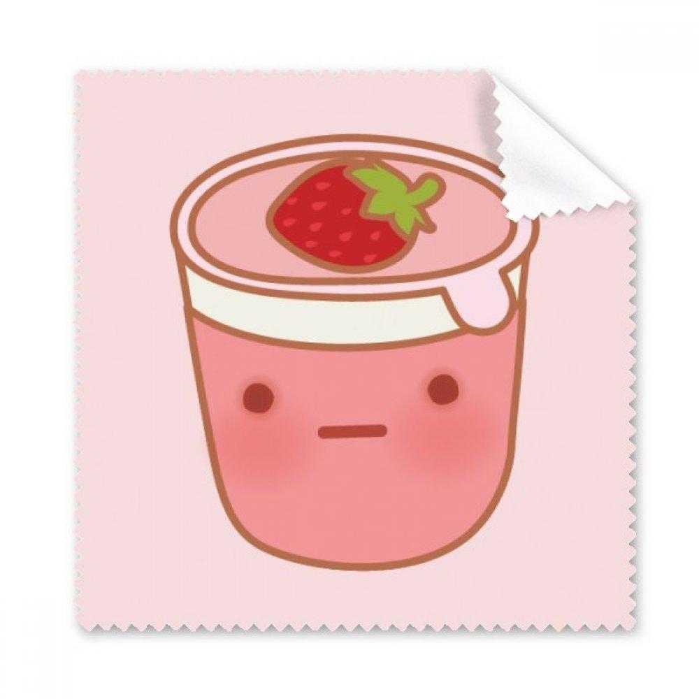 表情Strawberry IceクリームGlasses布クリーニングクロス電話画面クリーナー5点ギフト   B07BQXWL17
