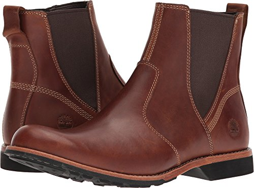 Timberland Mens City Casual Side Zip Tan 10 D - Medium by Timberland