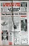 CANARD ENCHAINE (LE) N° 3573 du 19-04-1989 LA SEMAINE OU LES JEUNOTS ONT PRIS UN COUP DE VIEUX - LES CENTRES DE TRANSFUSION ET LE SIDA - KOUCHNER AU LIBAN - ROCARD ET LA CORSE - VALERY GISCARD D'ESTAING par Le Canard enchaîné