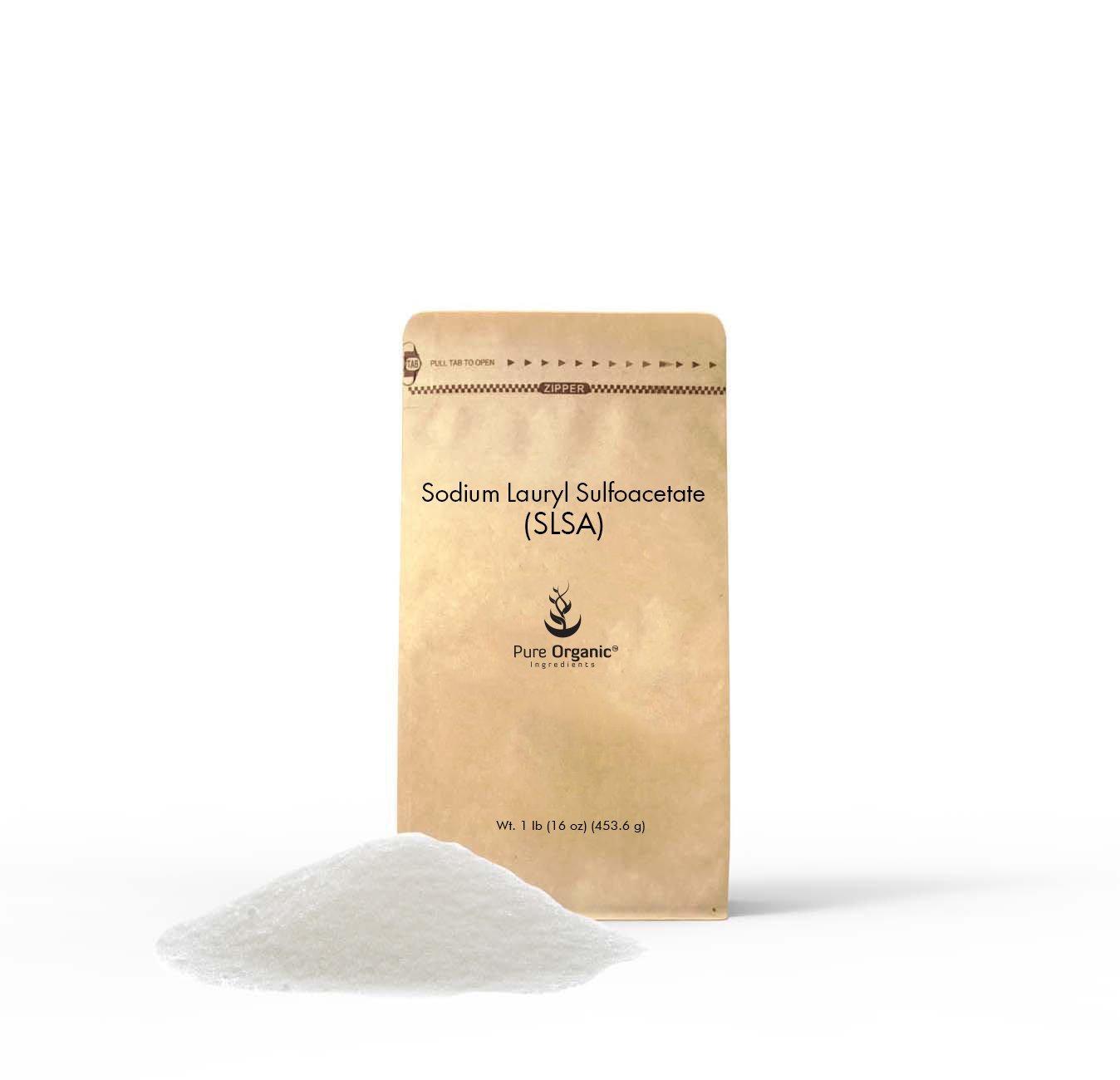 Sodium Lauryl Sulfoacetate (SLSA) Bath Bomb bubbles, Gentle on Skin 1 lb (16 oz), Eco-Friendly Packaging (Also Available in 4 oz, 11 oz, 1 lb, 2 lb, 3 lb)