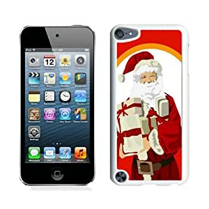 Popular Sell Design Santa Claus christmas White iPod Touch 5 Case 4