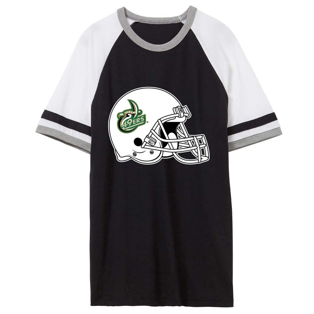 NCAA UNC at Charlotte PPNCC06 Unisex Slapshot Vintage Jersey T-Shirt